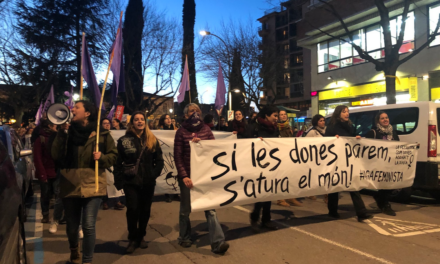 Lliures, vives, feministes, combatives i rebels tot l'any
